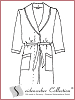 Silk robes from Seidenweber