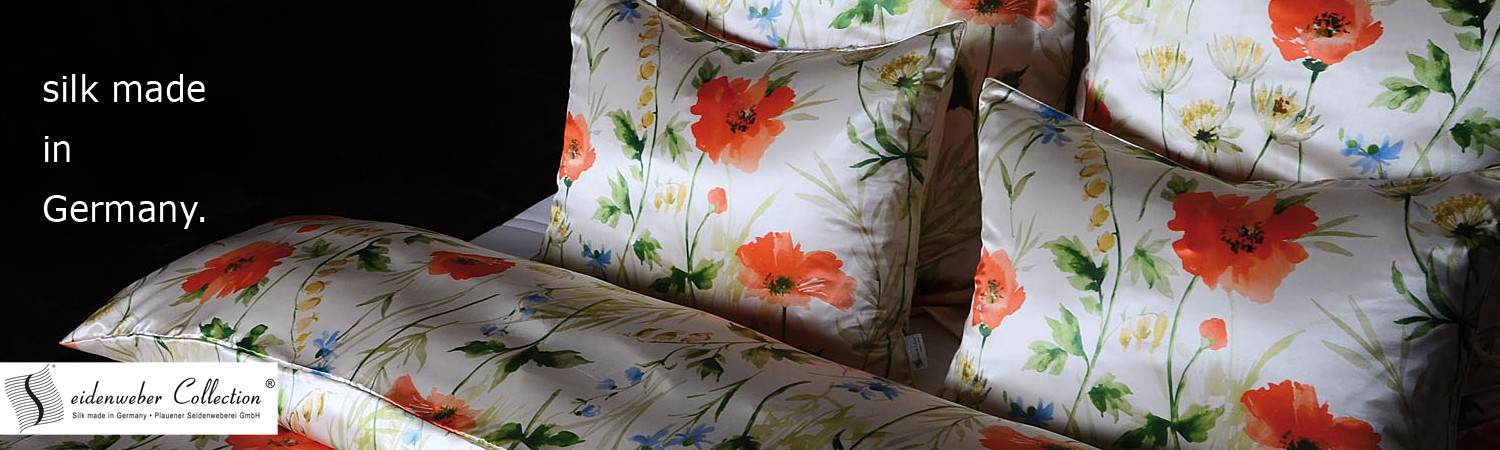 Luxury Seidenweber silk collection - silk made in Germany