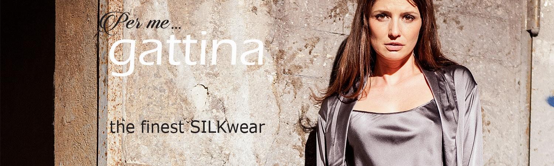 GATTINA - high quality & elegant silk sleepwear